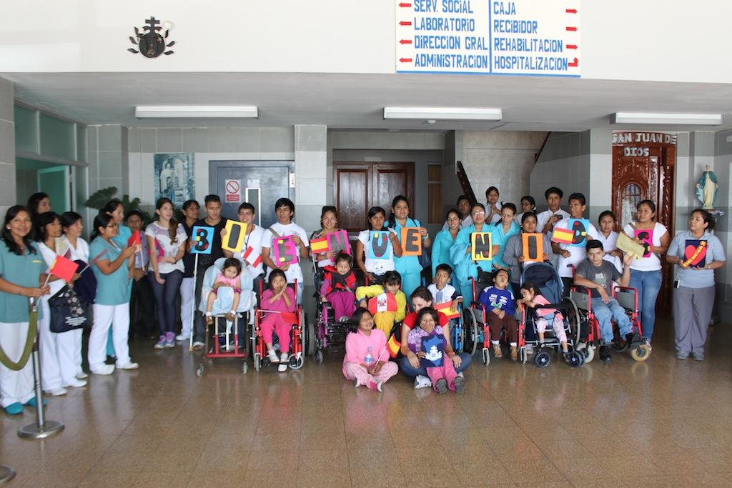 Campaña quirúrgica en Perú