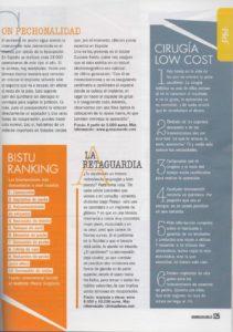 Gustavo Sordo en Cosmopolitan: Aumento pecho