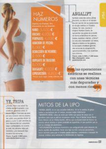 Gustavo Sordo en Cosmopolitan: Cirugía estética