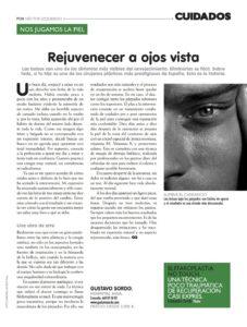Dr. Gustavo Sordo en la Revista cuidados