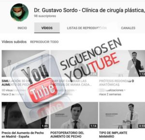 Dr. Sordo en Youtube