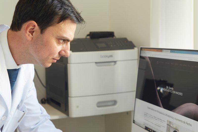 Diagnóstico estético en la primera consulta del dr. Sordo